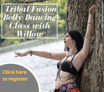 Tribal Fusion Belly Dancing Class